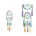Chakra Dream Catcher with Crystals