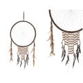 Indian Tribal Design Beaded Dream Catcher (Large)