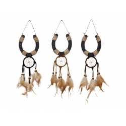 Wild & Free Lucky Horseshoe Dream Catcher