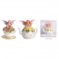 Fairy with Flowers on Teacup/Teapot