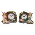 Flower Fairy Tree Clock