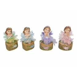 Floral Fairy in Tutu on Pin Box