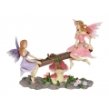 Flower Fairies on Garden Seesaw