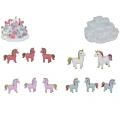 Rainbow Unicorns & Snow Mountain Display Pack