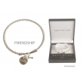 Equilibrium Character Charm Bangle (FRIENDSHIP)