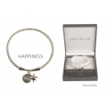 Equilibrium Character Charm Bangle (HAPPINESS)