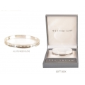 Equilibrium Inspirational Curved Bangle (LOVE)