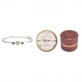 Equilibrium Birthstone Bangle with Diamante's (MAY)