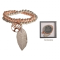 Equilibrium Tree of Life Double Bracelet (Gold/Silver)