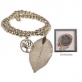 Equilibrium Tree of Life Double Bracelet (Silver)