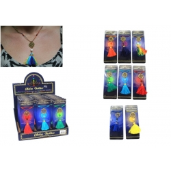 Chakra Symbol Necklace on Gift Card
