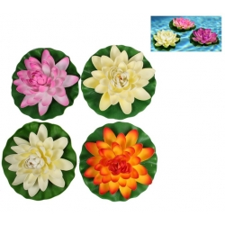 Floating Flower on Lily Pad (Large)