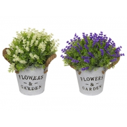 Flower Pot with Rope Handle