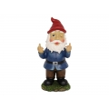 Cheeky Bobble Head Rude Finger Gnome (Large)