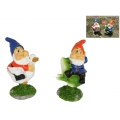 Gnome on Wobbly Duck/Frog Bobble