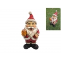 Zombie Santa Gnome in Gift Box