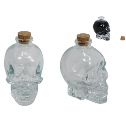 Crystal Glass Skull Decanter