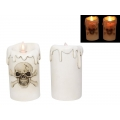 Skull & Crossbones LED Candle