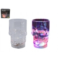 Flashing LED Skull Mug