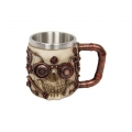 Steam Punk Machine Skull Mug