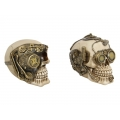 Steam Punk Machine Skull Head