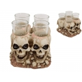 Skull Design Shot Glass Holder
