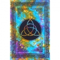 Triquetra Tie-Dye Tapestry
