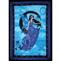 Fairy on Moon Tapestry