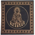Rulai Buddha Black Altar Cloth
