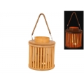 Bamboo Planter/Candle Holder Lantern