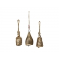 Brass Rustic Design Cow Bell