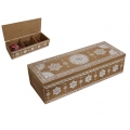 BoHo/Mandala Design Triple Divider Box