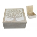 Tree of Life Carved Design Box