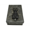 Antique Black Witches Cat Box