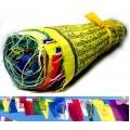 Tibetan Prayer Flags on Rope (Large)