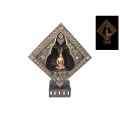 Buddha Back Flow Incense Burner & Light Up Temple