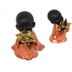Monk & Lotus Flower Incense & Cone Burner