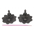 Buddha on Flower Incense Burner