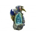Dragon Light Up USB Geode Cave Backflow Incense Burner