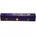 Incense Burner - Sun, Moon & Stars (Purple)