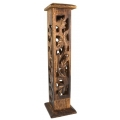 Incense Burner Tower - Square (Ash)