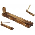 Bamboo Incense Stick Burner & Holder