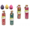 Backflow Incense Cones in Glass Gift Jar
