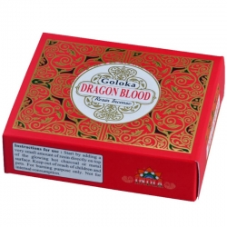 Goloka Dragon Blood Resin Incense (30gm)