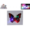 Flashing LED Butterfly Sticker
