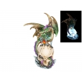 Dragon Guardian on Light Up USB Skull Lamp