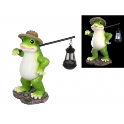 Travelling Frog with Lantern