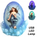 Fairy on Dragon Egg USB Lamp