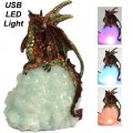 Dragon on Light Up USB Cloud Lamp