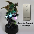 Dragon Enchanted Forest Lamp with Remote